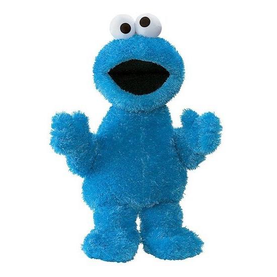 Sesame Street Cookie Monster Chaussures Bleu XCdHdYa